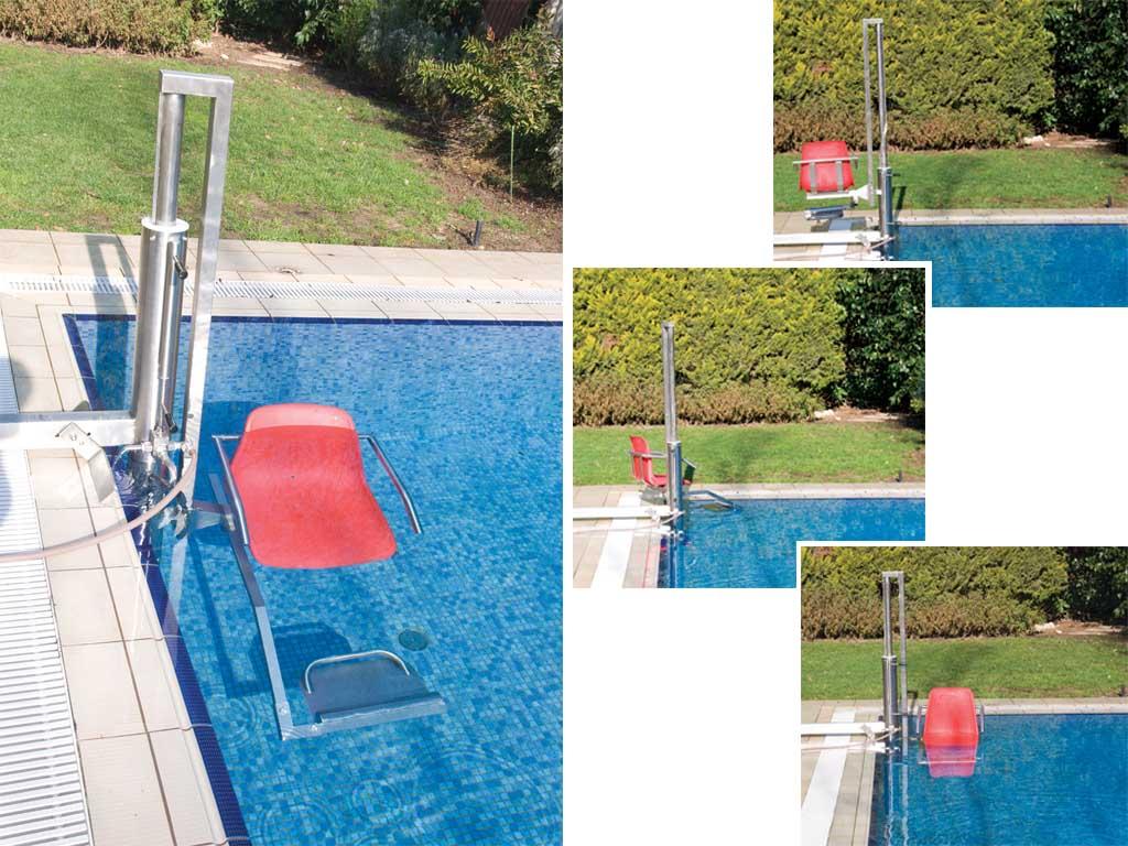 Engelliler İçin Havuz Asansörü