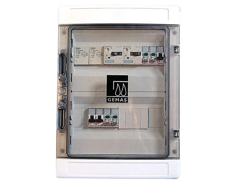 Kontaktörlü Elektrik Kontrol Panosu