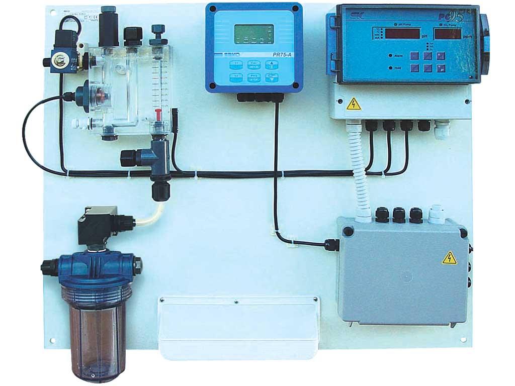 Serbest Klor ve pH Kontrol Cihazı 1