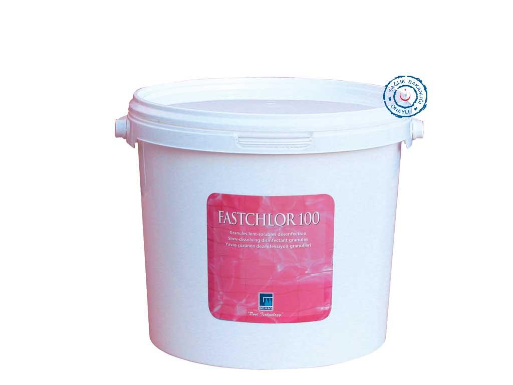 """""""FASTCHLOR 100"""" Stabilize Triklor Granülü , %90 Klor İçeriği 1"""
