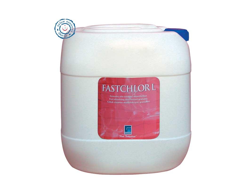 """""""FASTCHLOR L """" Sodyum Hipoklorit, %12 Klor içeriği."""