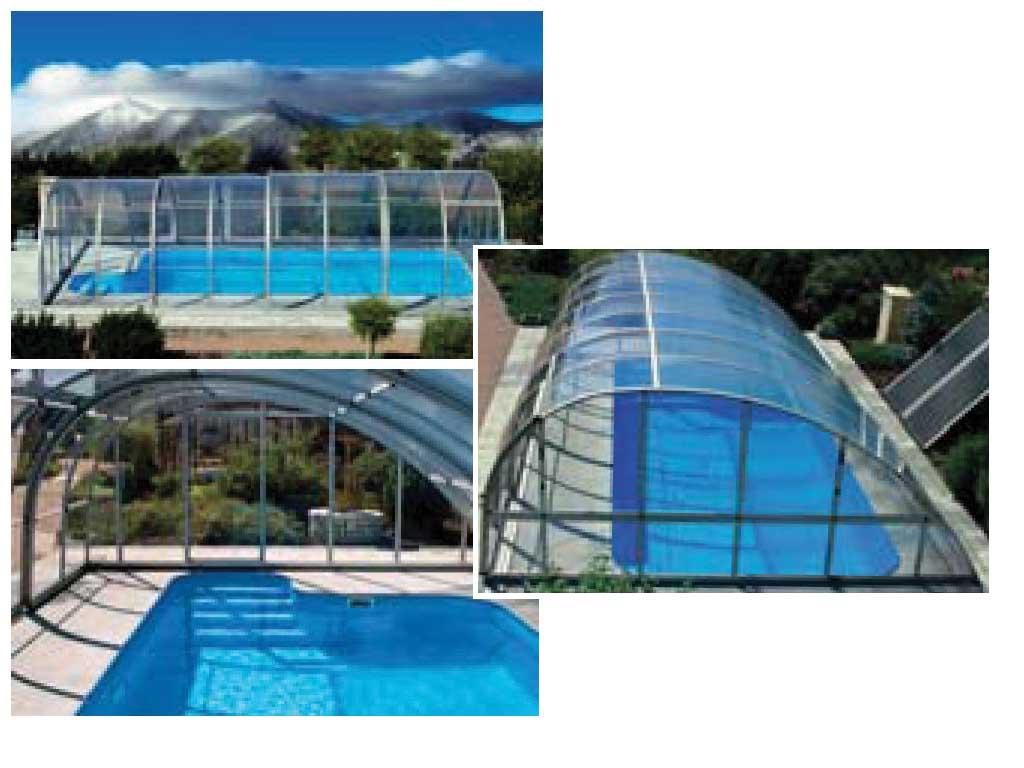 Monaco Teleskopik Havuz Çatıları