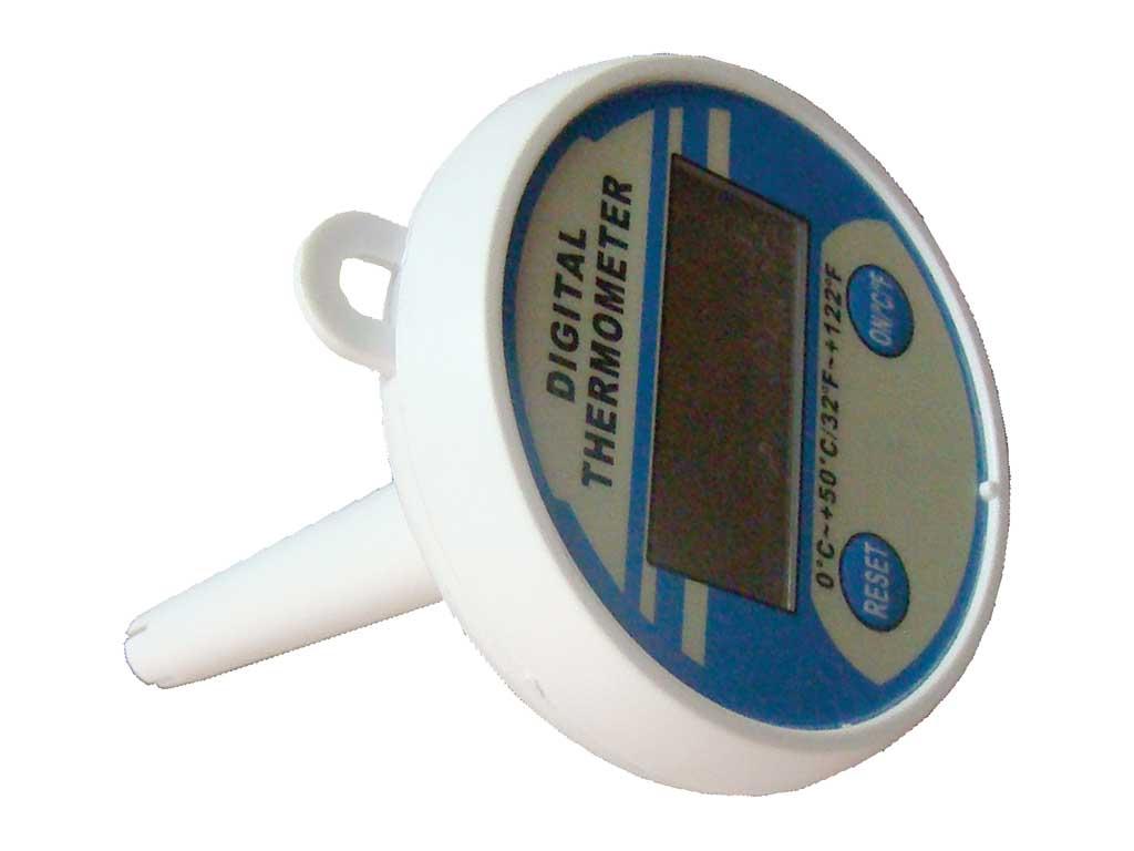Sayısal Yüzer Termometre, Ø 80 Mm 1